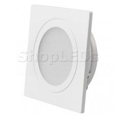 Светодиодный светильник LTM-S60x60WH-Frost 3W Day White 110deg