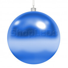 Елочная фигура «Шар»  10 см, цвет синий NEON-NIGHT