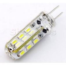 Светодиодная лампа DL12-G4-2W  (12V, 2W, 130 lm) (дневной белый 4000K)