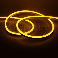 Гибкий неон SL SMD2835, 120led/m, 12V, 8х16мм (желтый)